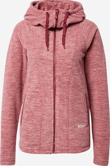 ROXY Sports sweat jacket 'ELECT FEELIN' in Red mottled, Item view