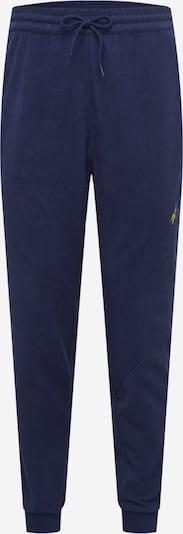 Reebok Sport Pantalon de sport en bleu marine / jaune, Vue avec produit