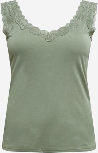 Vero Moda Curve Shirt 'PHINE' in grün, Produktansicht