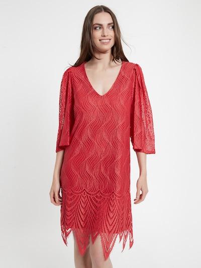 Ana Alcazar Kleid ' Cafos ' in rot, Modelansicht