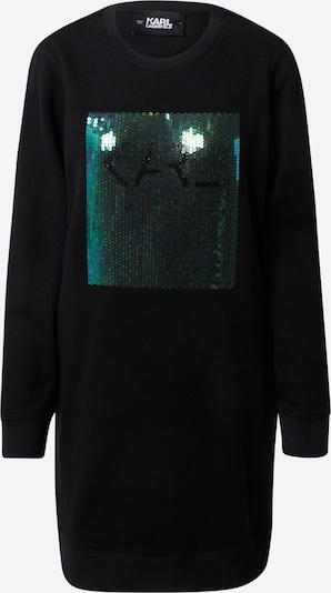 Karl Lagerfeld Obleka | temno zelena / črna barva, Prikaz izdelka