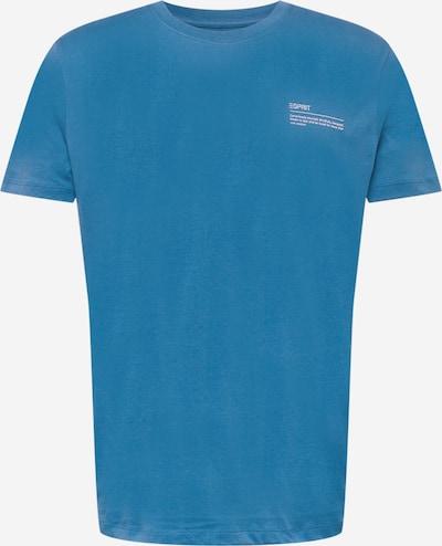 ESPRIT Shirt in himmelblau / weiß, Produktansicht