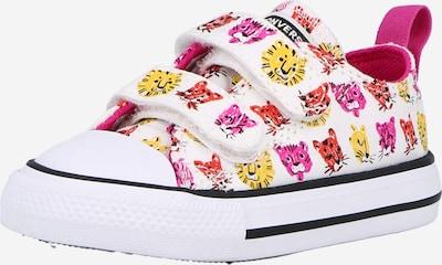 CONVERSE Sneakers in de kleur Limoen / Lichtlila / Oranjerood / Zwart / Wit, Productweergave