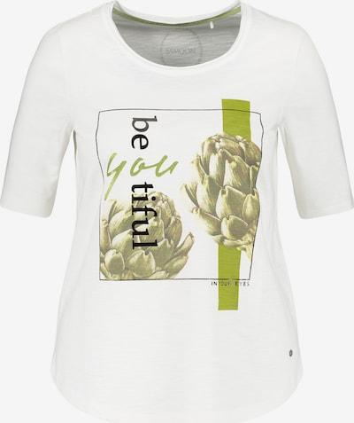 Tricou SAMOON pe verde deschis / negru / alb murdar, Vizualizare produs