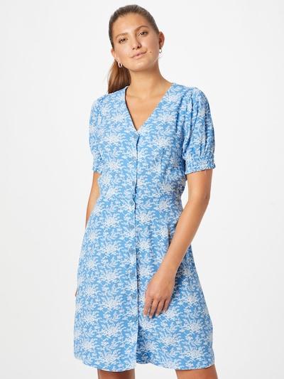 ZABAIONE Kleid 'Monroe' in himmelblau / weiß, Modelansicht