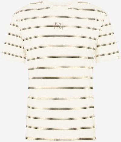 PROTEST T-Shirt fonctionnel 'Ceasar' en jaune / vert / rose / noir / blanc chiné, Vue avec produit