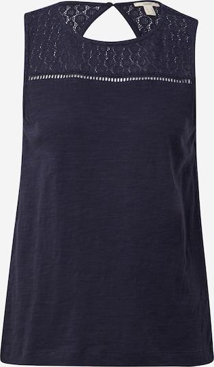 ESPRIT Top 'Crochet' w kolorze granatowym, Podgląd produktu