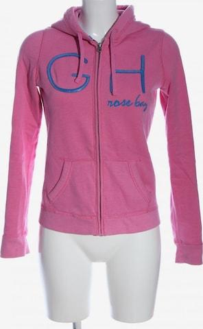 Gilly Hicks Sweatshirt & Zip-Up Hoodie in S in Pink