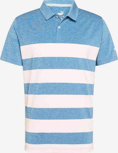 PUMA Camiseta funcional 'MATTR' en azul ahumado / blanco, Vista del producto
