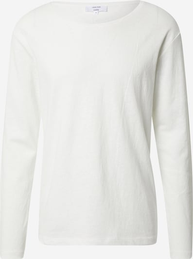 DAN FOX APPAREL Shirt 'Lino' in weiß, Produktansicht