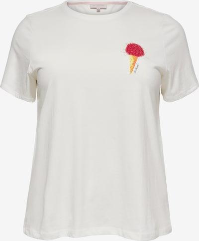 ONLY Carmakoma Camiseta en amarillo / rojo / blanco, Vista del producto