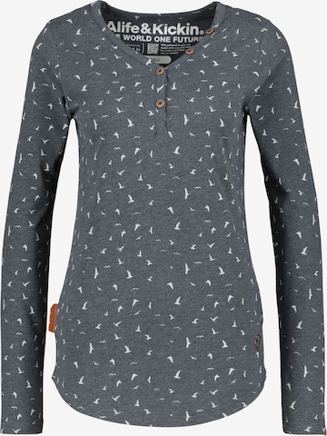 Alife and Kickin Shirt in Grey