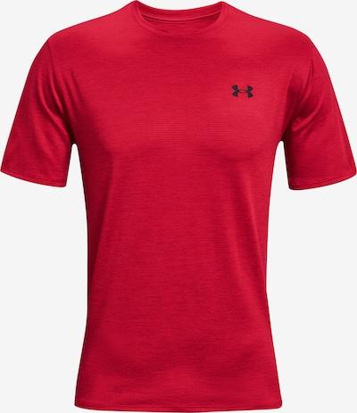 UNDER ARMOUR Функционална тениска в червено / черно, Преглед на продукта