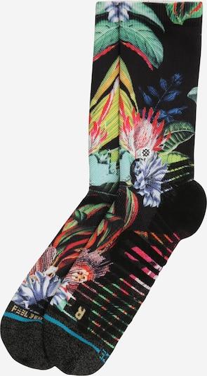 Stance Chaussettes de sport 'TROP IT' en mélange de couleurs / noir, Vue avec produit