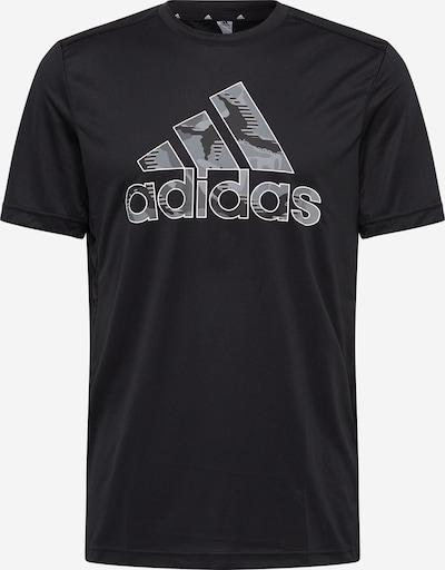 ADIDAS PERFORMANCE Koszulka funkcyjna w kolorze szary / czarny / białym, Podgląd produktu