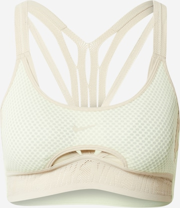 zaļš NIKE Sporta krūšturis 'Nike Indy UltraBreathe'
