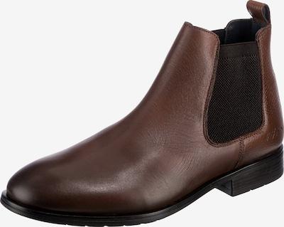 TOMMY HILFIGER Chelsea Boots in cognac / schwarz, Produktansicht