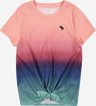 Abercrombie & Fitch T-Shirt in blau / jade / pink, Produktansicht