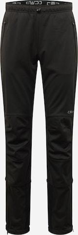 CMP Vabaajapüksid, värv must