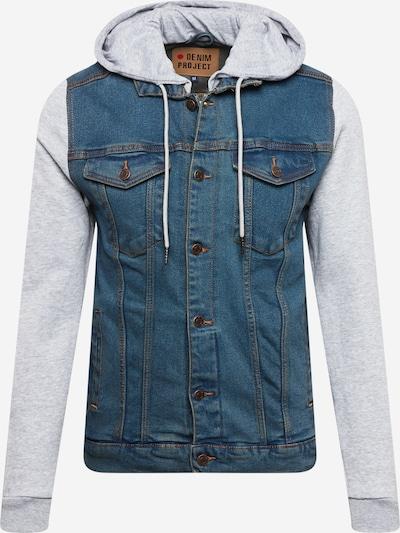 Denim Project Between-Season Jacket in Blue denim / Grey, Item view