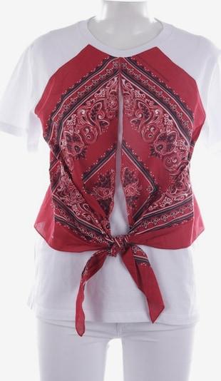 VALENTINO Shirt in L in rot / weiß, Produktansicht