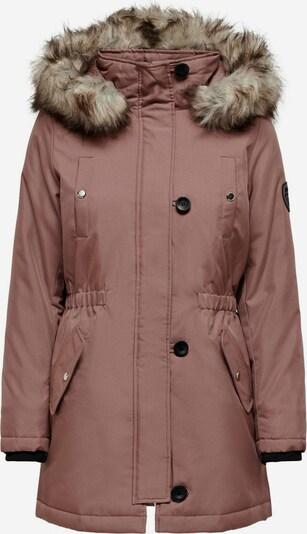 ONLY Winterparka in braun / schwarz, Produktansicht