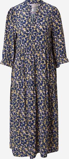 Noa Noa Kleid 'AIR' in dunkelblau / gelb / weiß, Produktansicht