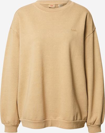 LEVI'S Sweatshirt 'Melrose Slouchy Crew' in beige, Produktansicht
