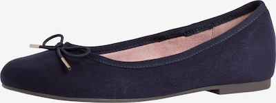 TAMARIS Ballerina in Navy, Item view