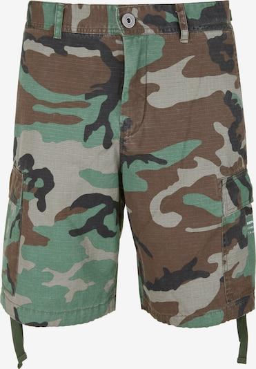 REPLAY Shorts Military-Look in mischfarben, Produktansicht