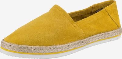 Paul Vesterbro Leder Espadrilles in gelb, Produktansicht