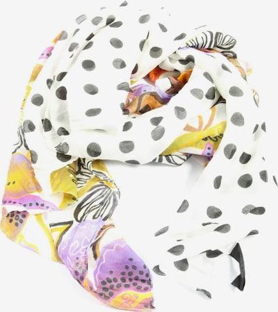 Passigatti Sommerschal in One Size in pastellgelb / schwarz / weiß, Produktansicht