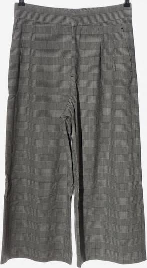 ZARA Culottes in S in schwarz / weiß, Produktansicht
