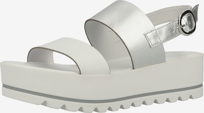 Nero Giardini Sandale in silber / weiß, Produktansicht