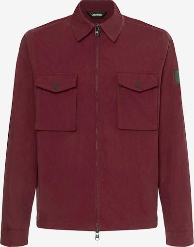 Calvin Klein Tussenjas in de kleur Bordeaux, Productweergave