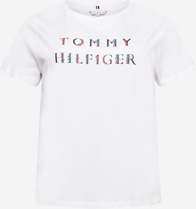 Tommy Hilfiger Curve Shirt in Light blue / Light red / Black / White, Item view