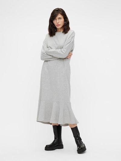 OBJECT Kleid 'Regita' in graumeliert, Modelansicht