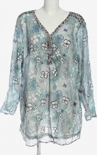 AMY VERMMONT Schlupf-Bluse in 4XL in blau / schwarz / weiß, Produktansicht