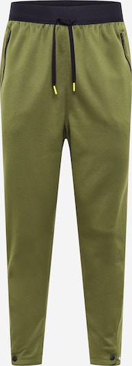 ADIDAS PERFORMANCE Sporthose in khaki / schwarz, Produktansicht