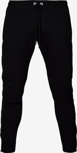 Pantaloni sport MOROTAI pe negru / alb, Vizualizare produs