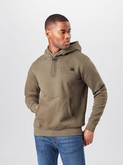 !Solid Sweatshirt 'Mirub' in oliv / schwarz: Frontalansicht
