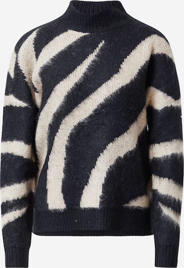 Megztinis 'TAWA' iš ONLY , spalva - smėlio / juoda: Vaizdas iš priekio