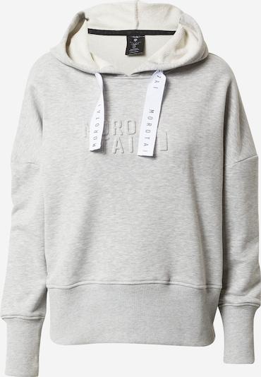 MOROTAI Sweat de sport 'NAKA' en gris chiné, Vue avec produit