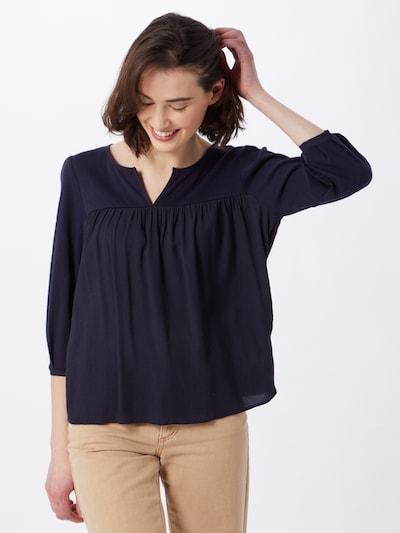 ESPRIT Bluse in dunkelblau, Modelansicht