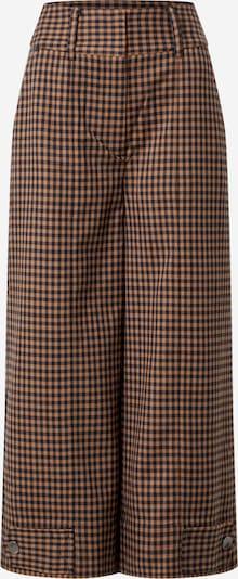 SECOND FEMALE Trousers 'Branley' in brown / black, Item view