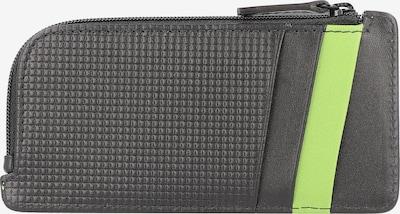 Davidoff Kreditkartenetui 'Paris' in grün / schwarz, Produktansicht