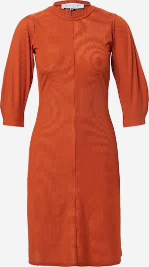 Closet London Kleid in rostbraun, Produktansicht