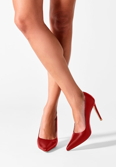 Feraggio Pumps 'Rushhour Red Pumps 10 cm' in rot: Frontalansicht