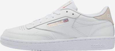 Reebok Classic Sneaker 'Club C 85' in beige / weiß, Produktansicht
