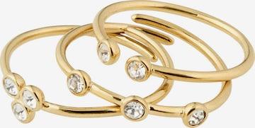 Pilgrim Ring 'Kamari' i gull